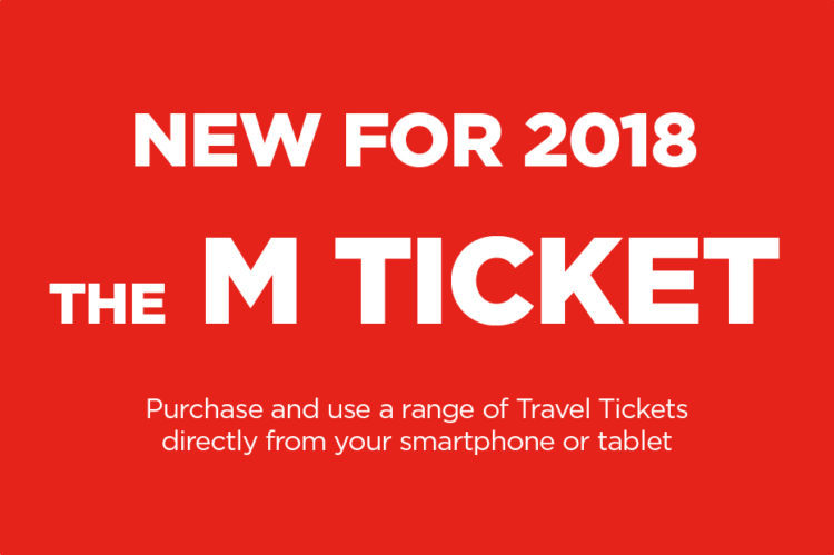 Buy our most popular tickets on mobile