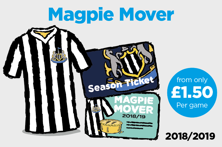 Exclusively for NUFC season ticket holders