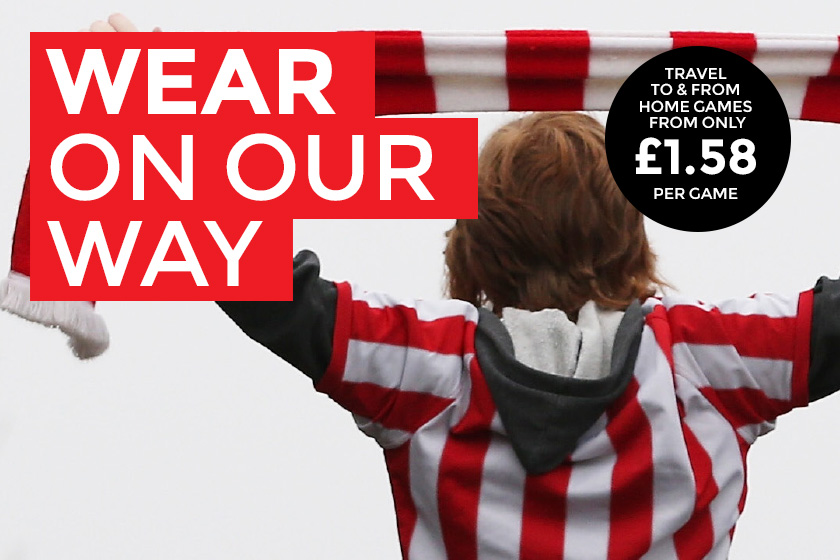 Exclusive to SAFC season ticket holders