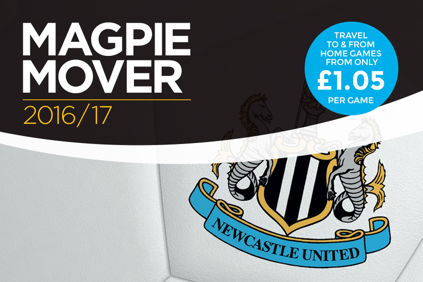 Exclusive to NUFC season ticket holders